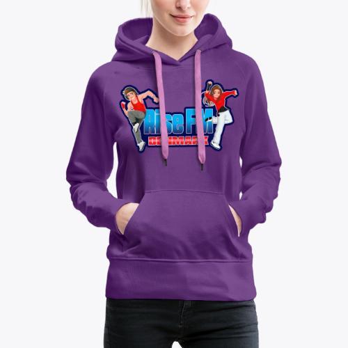 Rise FM Logo - Women's Premium Hoodie
