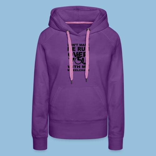 Runover1 - Vrouwen Premium hoodie