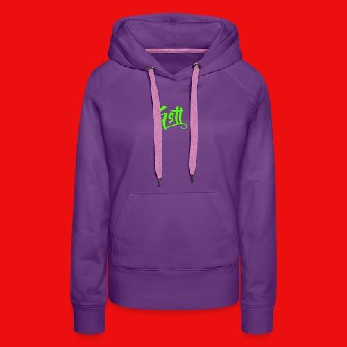 Gstl_Logo_-Green- - Women's Premium Hoodie