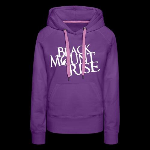 BMR Schriftzug simple black - Frauen Premium Hoodie