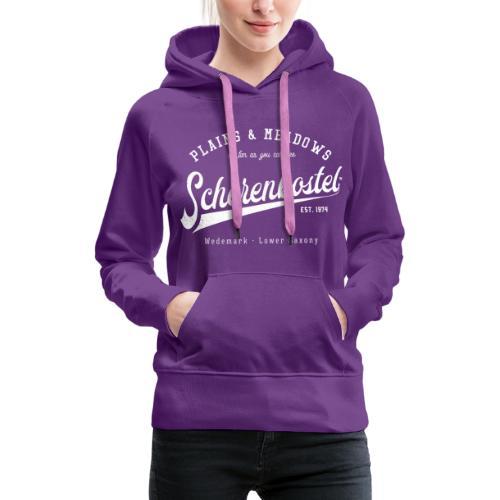 Scherenbostel Retrologo - Frauen Premium Hoodie