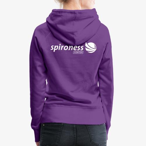 Spironess Center COLORPOP - Sweat-shirt à capuche Premium pour femmes