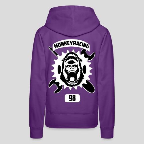 Monkey Racing98 Emblem - Frauen Premium Hoodie