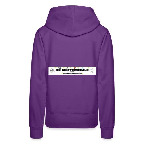 Die Meisterschale Logo Banner1 jpg - Frauen Premium Hoodie