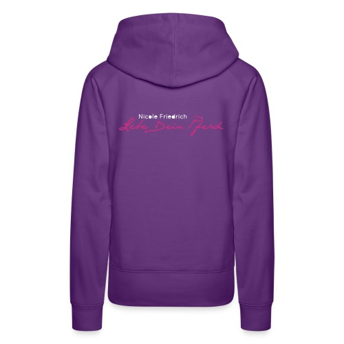 Logo_LebedeinPferd_ - Frauen Premium Hoodie