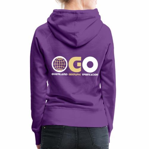 OGO-13 - Sweat-shirt à capuche Premium pour femmes