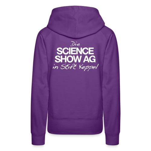 Das Science Show AG Logo - Frauen Premium Hoodie