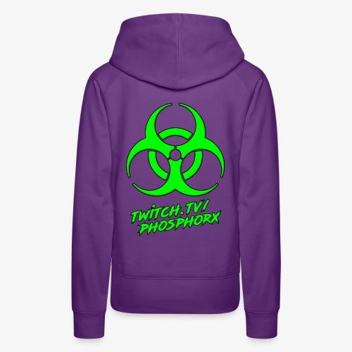 twitch phosphorx hinten - Frauen Premium Hoodie