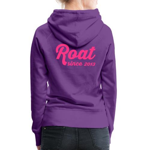 Roat since 2013 - Dame Premium hættetrøje