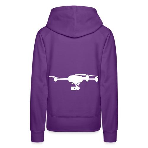 Drone telepilote Vestes et gilets - Sweat-shirt à capuche Premium pour femmes