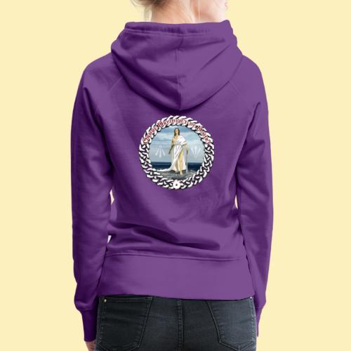 Ordre Druidique de Dahut Logo - Sweat-shirt à capuche Premium pour femmes