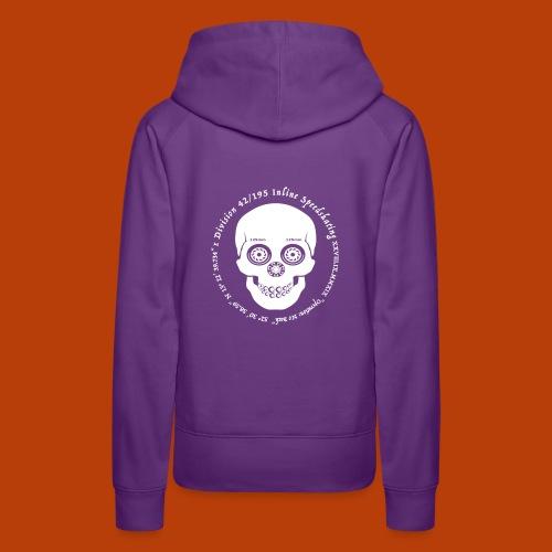 Skull Divisoin42 - Frauen Premium Hoodie