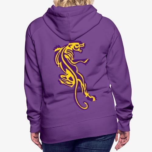 Tiger great cat design by patjila - Women's Premium Hoodie