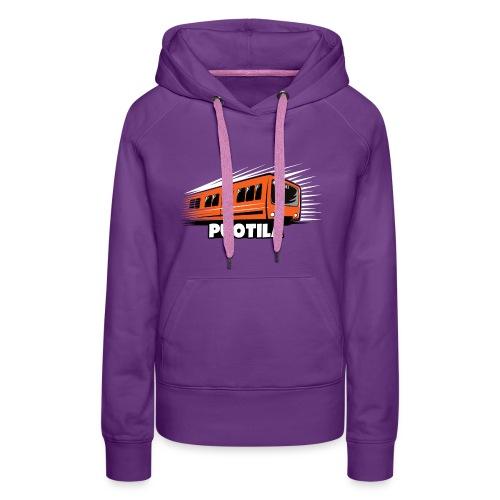 HELSINKI PUOTILA METRO T-Shirts, Hoodies, Gifts - Naisten premium-huppari