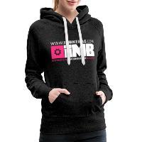 IMB Logo - Women's Premium Hoodie charcoal grey