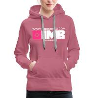 IMB Logo - Women's Premium Hoodie mauve