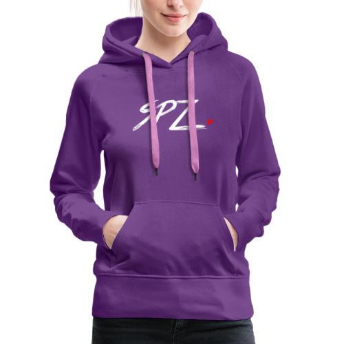 SPZ grafitti - Premium hettegenser for kvinner