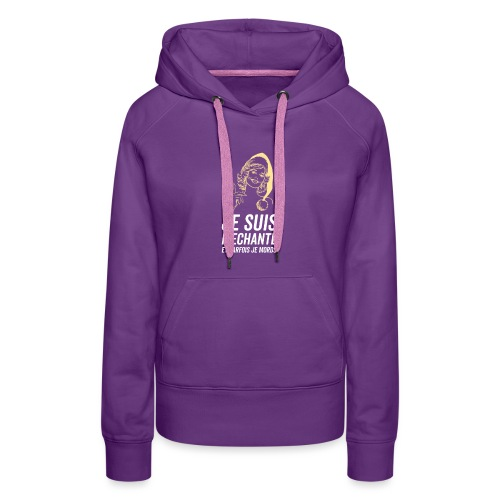 Tshirt Femme - Sweat-shirt à capuche Premium pour femmes