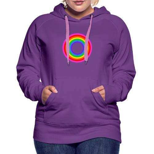 Eternal Rainbow - Naisten premium-huppari