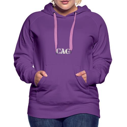 CAG Old School - Women's Premium Hoodie