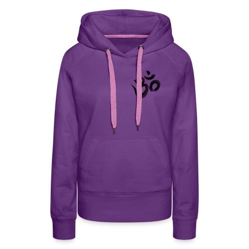 OM Mantra Joga - Frauen Premium Hoodie