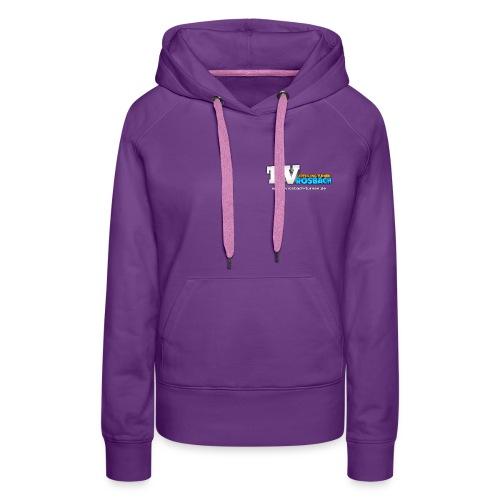 TVROSBACH Logo Vorne - Frauen Premium Hoodie