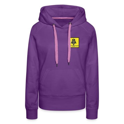 LES 2 SINGES BEATS - Sweat-shirt à capuche Premium pour femmes
