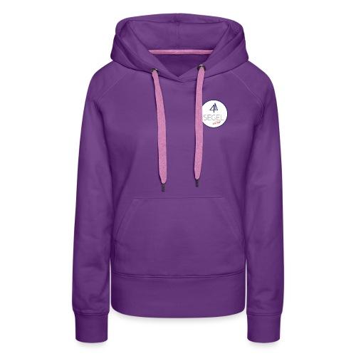SEGELnixe mit Logo - Frauen Premium Hoodie