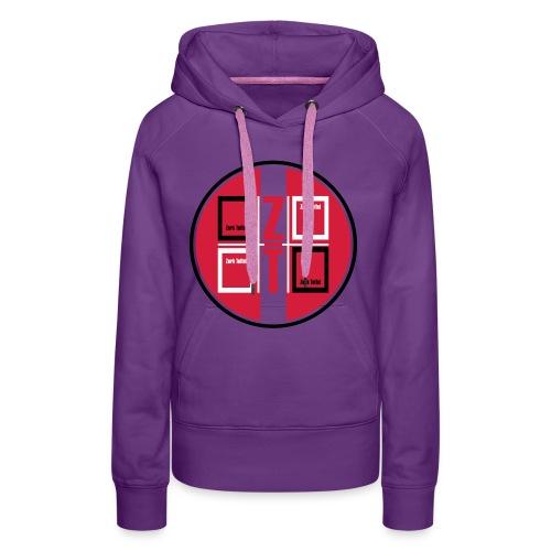 zork Toffel logo 017 - Frauen Premium Hoodie