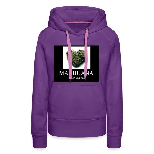 Marijuana - Vrouwen Premium hoodie