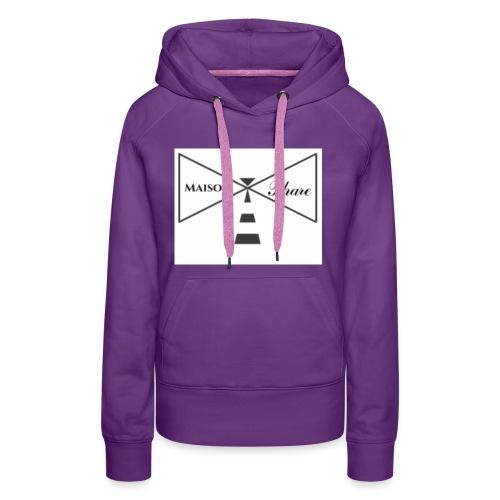 Maison Phare - Sweat-shirt à capuche Premium pour femmes
