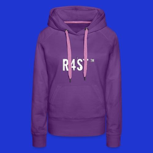 Maglietta ufficiale R4st - Felpa con cappuccio premium da donna