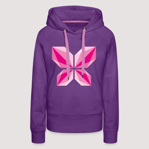 DDD Butterfly - Frauen Premium Hoodie