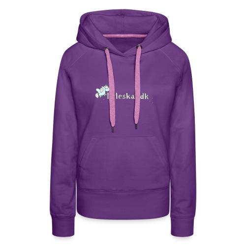 lilleskat_logo_-1- - Dame Premium hættetrøje