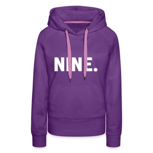Nine Snapback - Vrouwen Premium hoodie