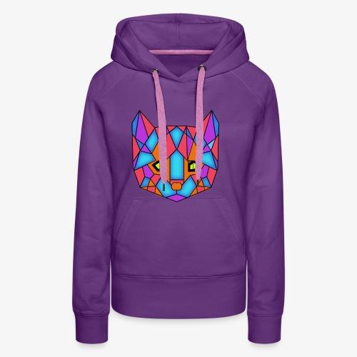 Psykocats Logo V1 - Sweat-shirt à capuche Premium pour femmes