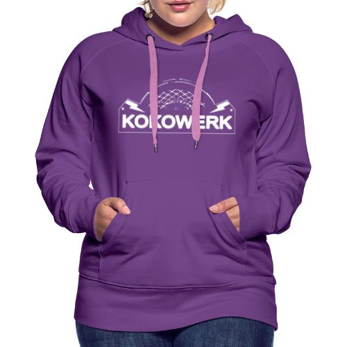 KOKOWERK ROCK BAND MERCH LOGO - Women's Premium Hoodie