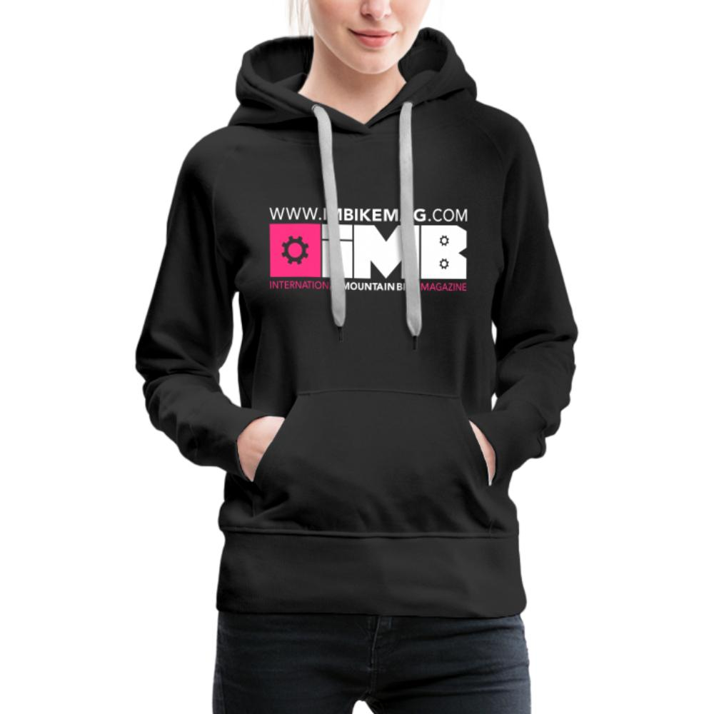 IMB Logo - Women's Premium Hoodie - black