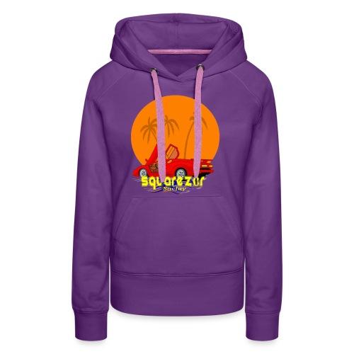 SaclayDrift - Sweat-shirt à capuche Premium pour femmes