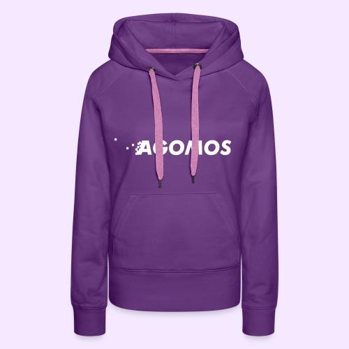 logo de la marque - Sweat-shirt à capuche Premium pour femmes