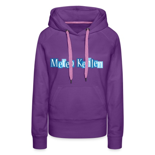 mk logo 3 - Frauen Premium Hoodie