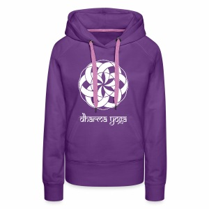 Dharma Yoga - Sweat-shirt à capuche Premium pour femmes