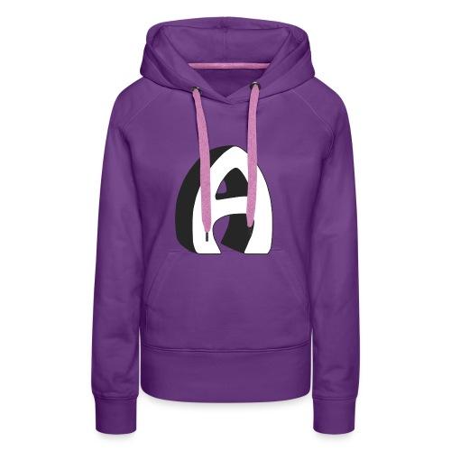 Alfa Kv | Basebal T-Shirt (lange mouwen) - Vrouwen Premium hoodie