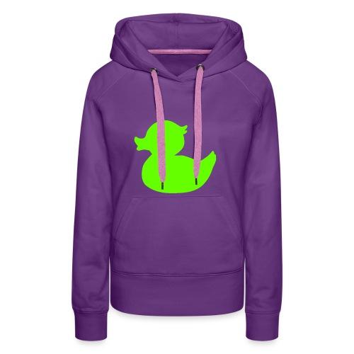 Green Duck - Vrouwen Premium hoodie