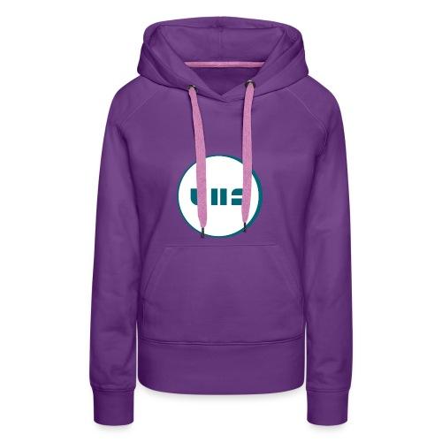 UHS Logo - Frauen Premium Hoodie