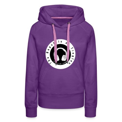 The Republic of Tingles [PierreG ASMR] - Sweat-shirt à capuche Premium pour femmes