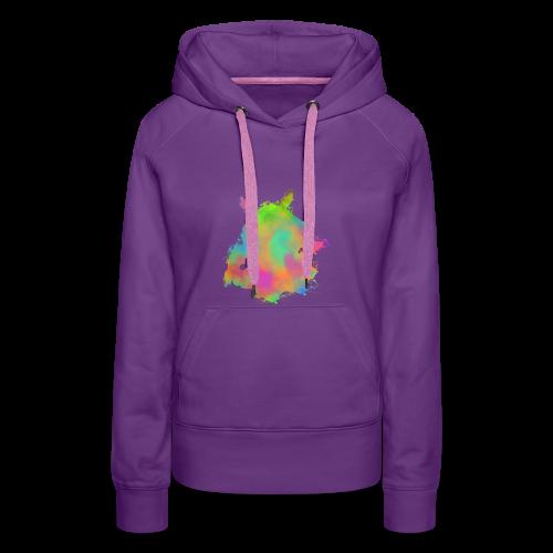 Zephyr Color - Sweat-shirt à capuche Premium pour femmes