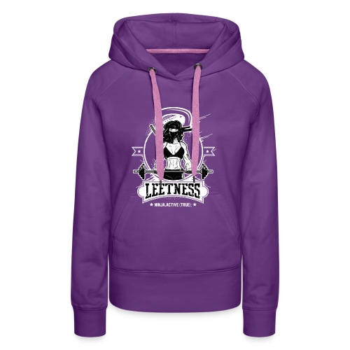 Leetness - Woman training T-shirt - Women's Premium Hoodie