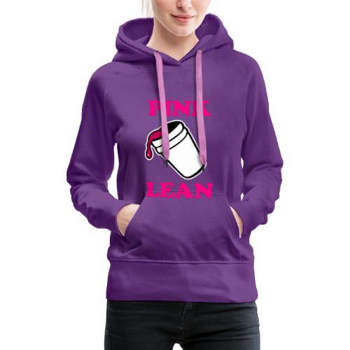 Tshirt Yencli Pink Lean - Sweat-shirt à capuche Premium pour femmes