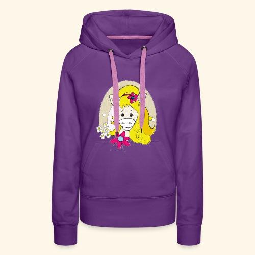 Eseldame Elsa_No.1 - Frauen Premium Hoodie